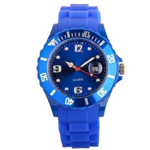 New Unisex Silicon Watch | Dark Blue