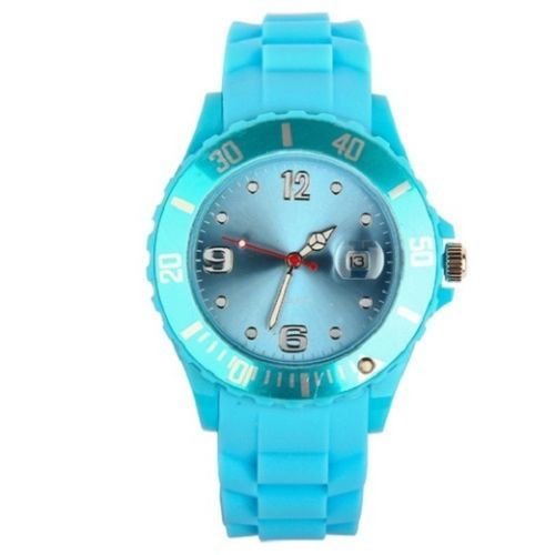 New Unisex Silicon Watch | Light Blue