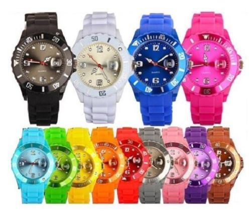 New Unisex Silicon Wrist Watch Whoelsale