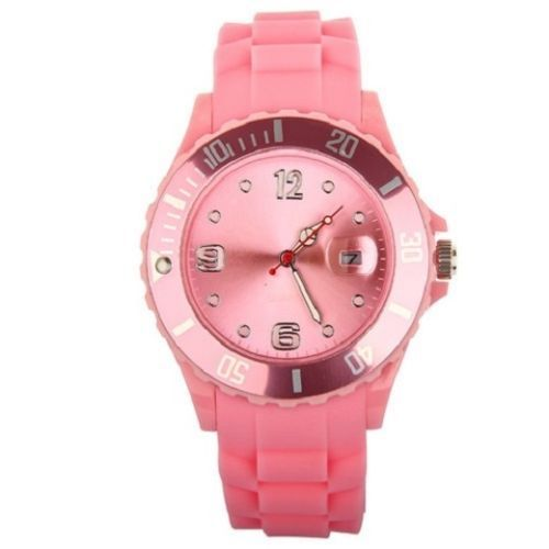 New Women's Silicon Watch|Pink